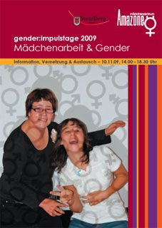 Titel Flyer gender:impulstage 2009